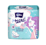Podrobnější informace o zbožíBella for Teens Ultra Sensitive hygienické vložky á 10 ks