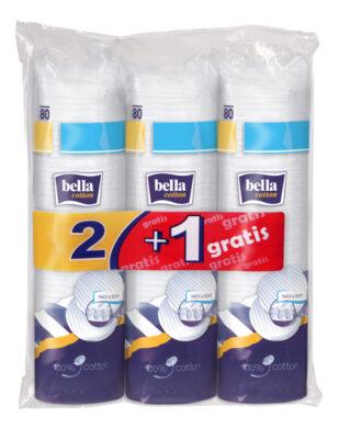Bella Cotton odličovací tampóny 80 ks 2+1 zdarma