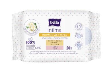 Bella intimní vlhčené ubrousky Intima á 20 ks