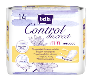 Bella Control Discreet Mini á 14 ks