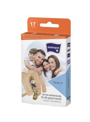 Náplast Family á 17 ks