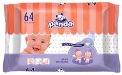 Panda vlhčené ubrousky á 64 ks