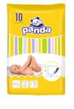 PANDA Dětské podložky á 10 ks