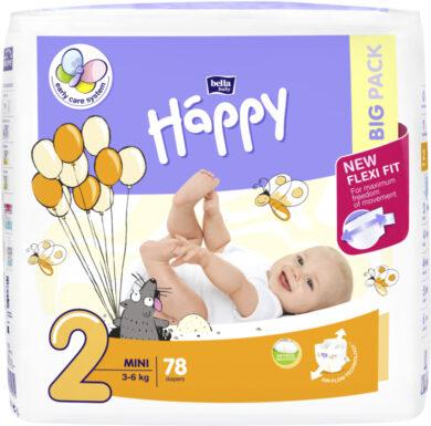 HAPPY MINI Big Pack á 78 ks