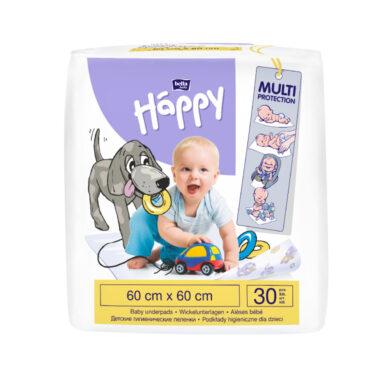 HAPPY Dětské podložky 60x60 cm á 30 ks