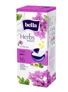 Bella Herbs Verbena Large slipové vložky á 16 ks