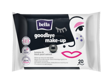 BELLA odličující ubrousky Goodbye Make-up s černou perlou